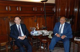 أبو ستيت يبحث مع نائب وزير الزراعة الصيني سبل زيادة الصادرات الزراعية المصرية للصين
