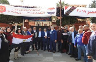 """""""مستقبل وطن"""": توافد أهالي شرق وجنوب بورسعيد للتصويت على التعديلات الدستورية"""