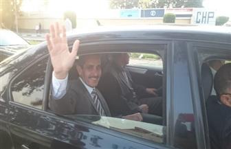 رئيس جامعة قناة السويس يقود مسيرة للدعوة لخروج المواطنين قبل غلق باب التصويت