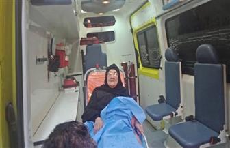 محافظ الشرقية يأمر بتوفير سيارة إسعاف مجهزة لمسنة لتوصيلها للجنة الاستفتاء | صور