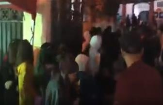 إقبال كثيف من المواطنين على التصويت في الاستفتاء بمدرسة قصر الدوبارة | فيديو