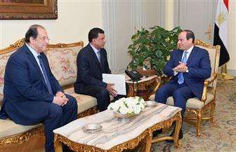 الرئيس السيسي يستقبل رئيس جهاز الأمن والمخابرات الوطني السوداني