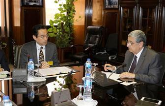شاكر يبحث مع البنك الياباني للتعاون الدولي تعزيز التعاون في الطاقة والكهرباء