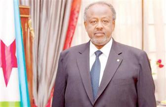 رئيس جمهورية جيبوتي يصل إلى القاهرة للمشاركة في القمة التشاورية بشأن السودان