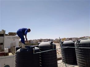 انطلاق مبادرة تطهير خزانات المساجد والكنائس بالبحر الأحمر | صور