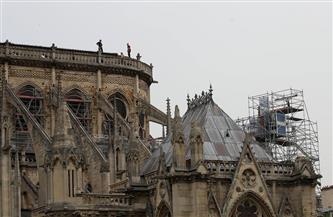 العمل يجري على قدم وساق في ترميم كاتدرائية نوتردام| صور