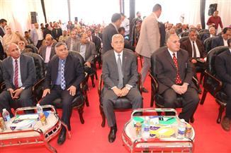 وزير الرى ونائب وزير التخطيط يشهدان المؤتمر الأول لروابط مستخدمي المياه بالمنوفية | صور