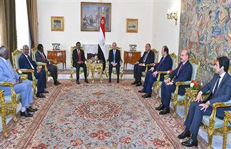 الرئيس السيسى يؤكد لنظيره الصومالي موقف مصر الثابت الداعم لوحدة الصومال