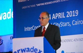"""وزير الرى: 3 مصادر بديلة لتوفير المياه.. والأنهار العربية """"مورد غير آمن"""""""
