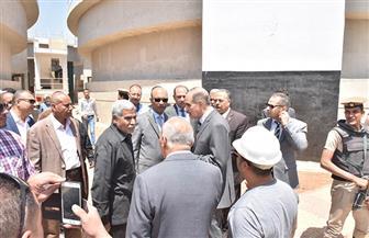 محافظ أسيوط يتابع الأعمال النهائية بمحطة مياه شلش في ديروط تمهيدا لتشغيلها | صور