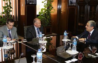 وزير الكهرباء يستقبل سفير أستراليا بالقاهرة لبحث سبل التعاون | صور