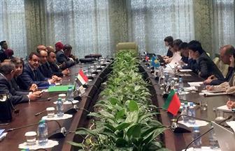 اختتام فعاليات الجولة الثانية لمفاوضات اتفاق التجارة الحرة بين مصر والاتحاد الأوراسي بموسكو   صور