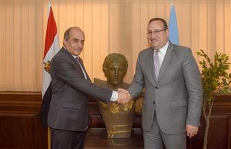 رئيس البرلمان القبرصي: مصر لديها إمكانات هائلة للتطوير والتعاون | صور