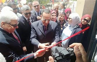 محافظ شمال سيناء يفتتح مركز مؤسسة الأهرام بعد تطويره | صور