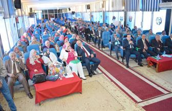 جامعة سوهاج تفتتح مؤتمرها الثالث عشر عن التربية والتنمية الثقافية  صور
