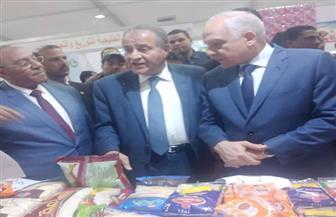 """وزير التموين ومحافظ الجيزة يفتتحان 4 معارض """"أهلا رمضان""""  صور"""