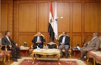 """رئيس جامعة كفر الشيخ يبحث ضوابط المنح الدراسية مع وفد """"فولبرايت""""   صور"""