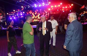 """""""فودة"""" يتفقد استعدادات شرم الشيخ لحفل أعياد تحرير سيناء  صور"""