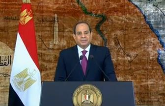 الرئيس السيسي: استعادة سيناء تمثل علامة فارقة في تاريخ شعوبنا ومثالا يحتذى به