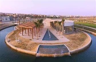 شاهد حديقة الشيخ زايد التي ستفتح أبوابها رسميا للجمهور بداية رمضان