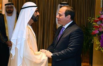 الرئيس السيسي يستقبل محمد بن راشد في بكين.. ويؤكد ما تحظى به الإمارات قيادة وشعبا من مكانة خاصة| صور