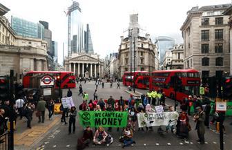 محتجون على تغير المناخ في بريطانيا يستهدفون بورصة لندن |صور