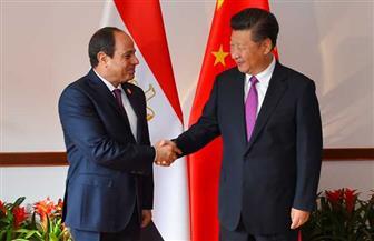 الرئيس السيسي يعقد جلسة مباحثات مع نظيره الصيني