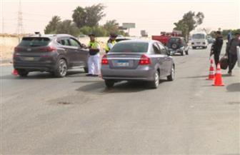 الداخلية تكثف من الخدمات الأمنية والمرورية على الطرق خلال فترة الأعياد | صور