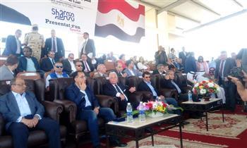 رئيس الوزراء يفتتح أول مضمار عالمي للهجن بشرم الشيخ | صور