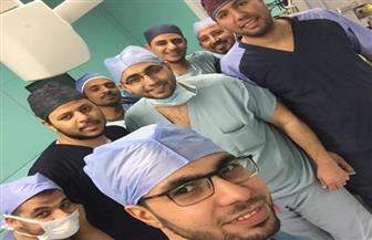 مستشفى أسوان الجامعي يجري جراحة نادرة بقسم المسالك لمريضة مسنة