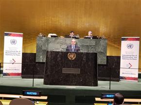 مندوب مصر لدى الأمم المتحدة يشدد على ضرورة محاسبة الأنظمة الداعمة للإرهاب | صور