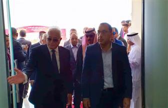 """رئيس الوزراء يغادر مضمار سباقات """"الهجن"""" بشرم الشيخ بعد افتتاحه"""