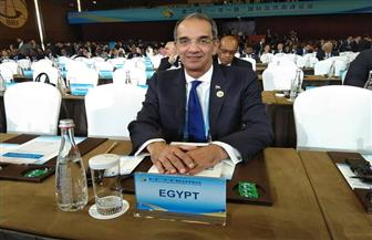 وزير الاتصالات يشهد توقيع اتفاقيات مصرية صينية تشمل المحمول والألياف الضوئية