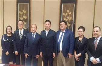وزير التجارة  يبحث مع 3 من كبريات الشركات الصينية الاستثمار فى مصر
