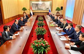 خلال لقائه الرئيس السيسي.. بوتين يشيد بجهود السلطات المصرية فى تأمين المطارات