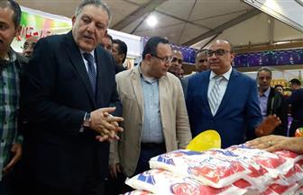 """يقدم سلعا غذائية بتخفيض 25%.. محافظ الإسكندرية يفتتح معرض """"أهلا رمضان""""  صور"""