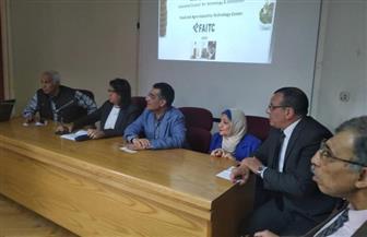 وفد المجلس الدولي للزيتون يتفقد معهد بحوث تكنولوجيا الأغذية