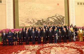 الرئيس السيسي يلتقي قادة دول العالم في مأدبة عشاء على هامش قمة الحزام والطريق| صور