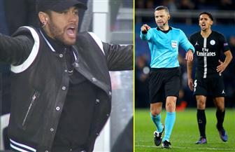 الاتحاد الأوروبي يقرر إيقاف نيمار 3 مباريات بسبب شتائمه لحكم مباراة سان جيرمان ومان يونايتد