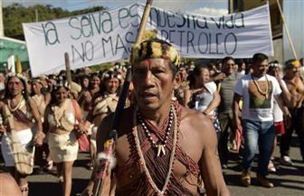 سكان أصليون في الإكوادور يتظاهرون لمنع شركات النفط من الاستيلاء على أراضيهم | صور