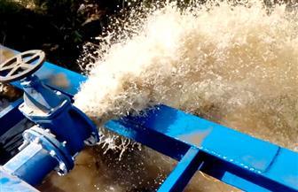 قبل بدء التشغيل.. غسيل وتطهير خط مياه الزينية المدامود بالأقصر |فيديو وصور