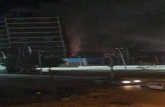 إخماد حريق نشب داخل شركة كهرباء جنوب الدلتا بطنطا | صور