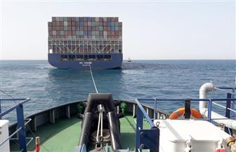موانئ البحر الأحمر تنفذ أكبر عملية قطر لسفينة الحاويات المعطلة APL DANUBE | صور