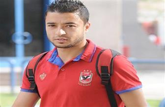 باسم علي يخضع لفحص طبي قبل مران الأهلي اليوم