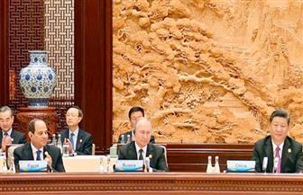 """فى تقرير لـ""""الاستعلامات"""": نتائج سياسية واقتصادية وإستراتيجية مهمة لزيارة الرئيس السيسي إلى الصين"""