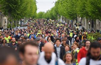"""الآلاف من """"السترات الصفراء"""" يتظاهرون في فرنسا رغم الإجراءات التي أعلن عنها ماكرون"""