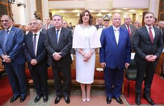وزيرة الهجرة تشارك في قداس عيد القيامة بالكنيستين الإنجيلية والأرثوذكسية |صور