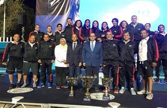 لأول مرة منذ 20 عاما.. مصر تتوج بطولة إفریقیا للسباحة للكبار  صور