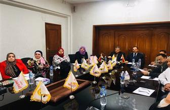 تيسير مطر: الاتحاد النسائي بتحالف الأحزاب لن يفشل | صور