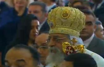 القمص بطرس يترأس قداس عيد القيامة بكنيسة مار جرجس بدسوق